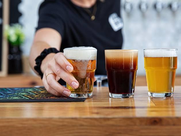 Beers at One Drop Brewery