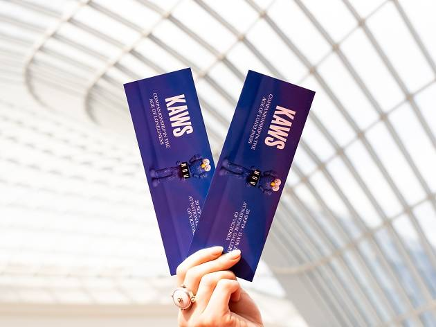 KAWS tickets Chadstone commercial