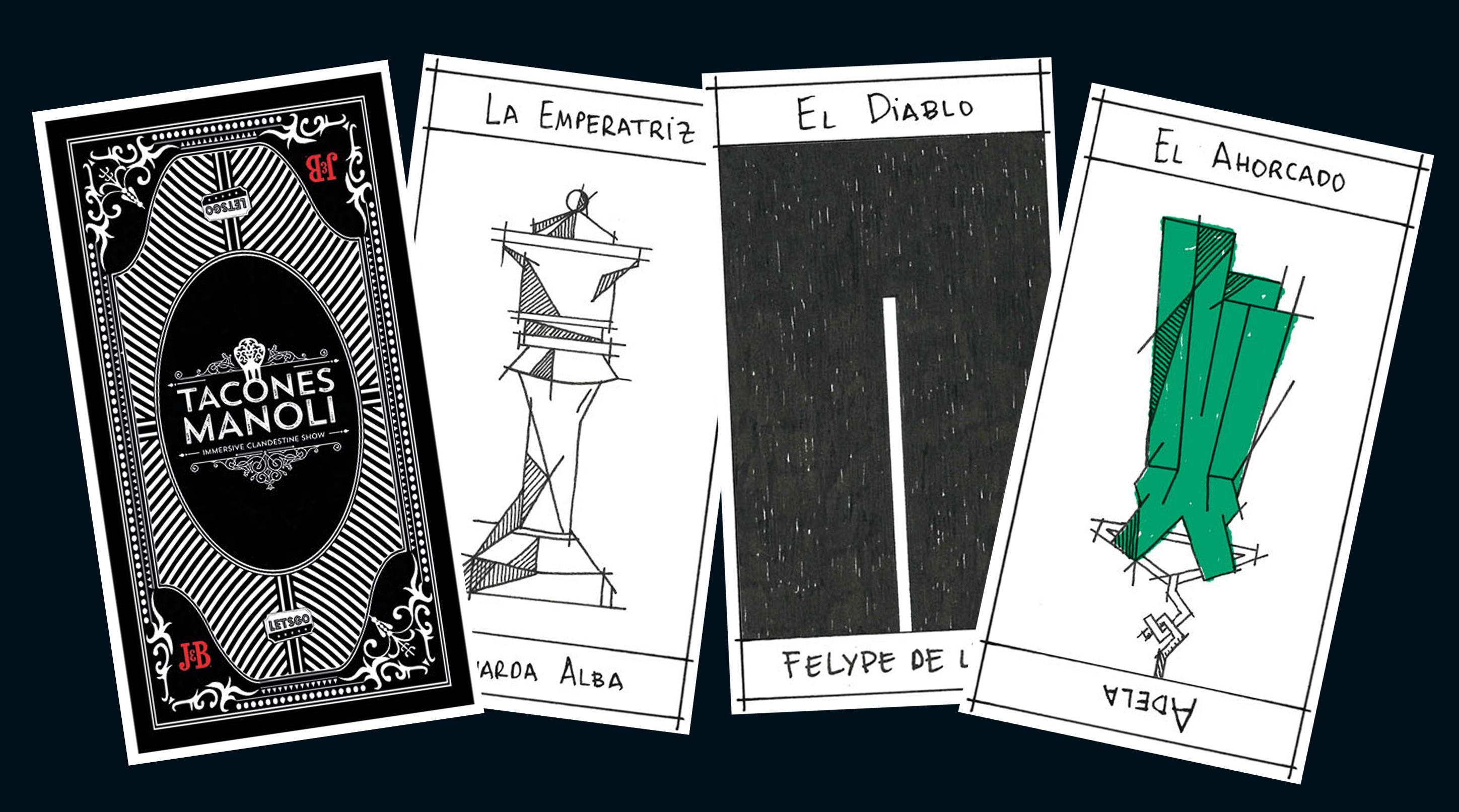 Así son las increíbles cartas del tarot que os echarán en Tacones Manoli