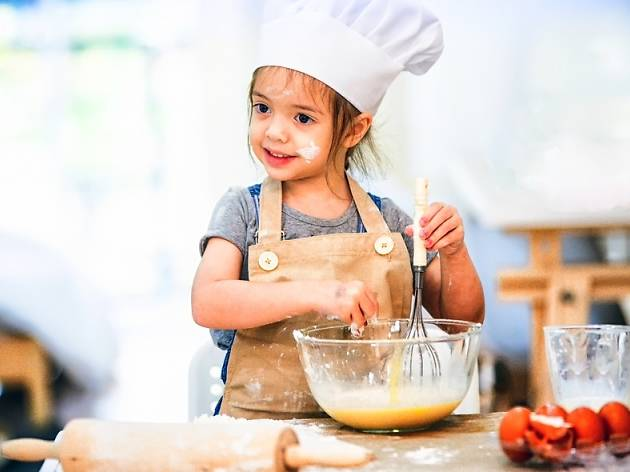 Tiny Chefs: Culinary Workshops for the Kids at Sarona Market