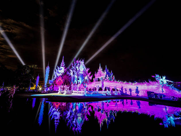 Wat Rong Khun Light Fest, Episode: Begins