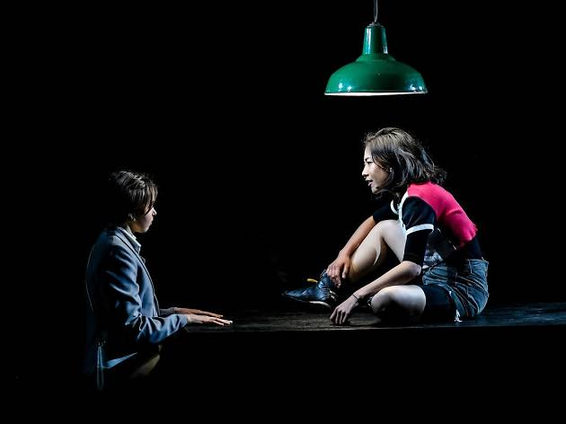 A Girl in School Uniform (Walks Into a Bar) Kings Cross Theatre 2019 supplied image