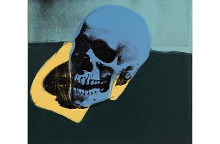 Andy Warhol. Skull, 1976.