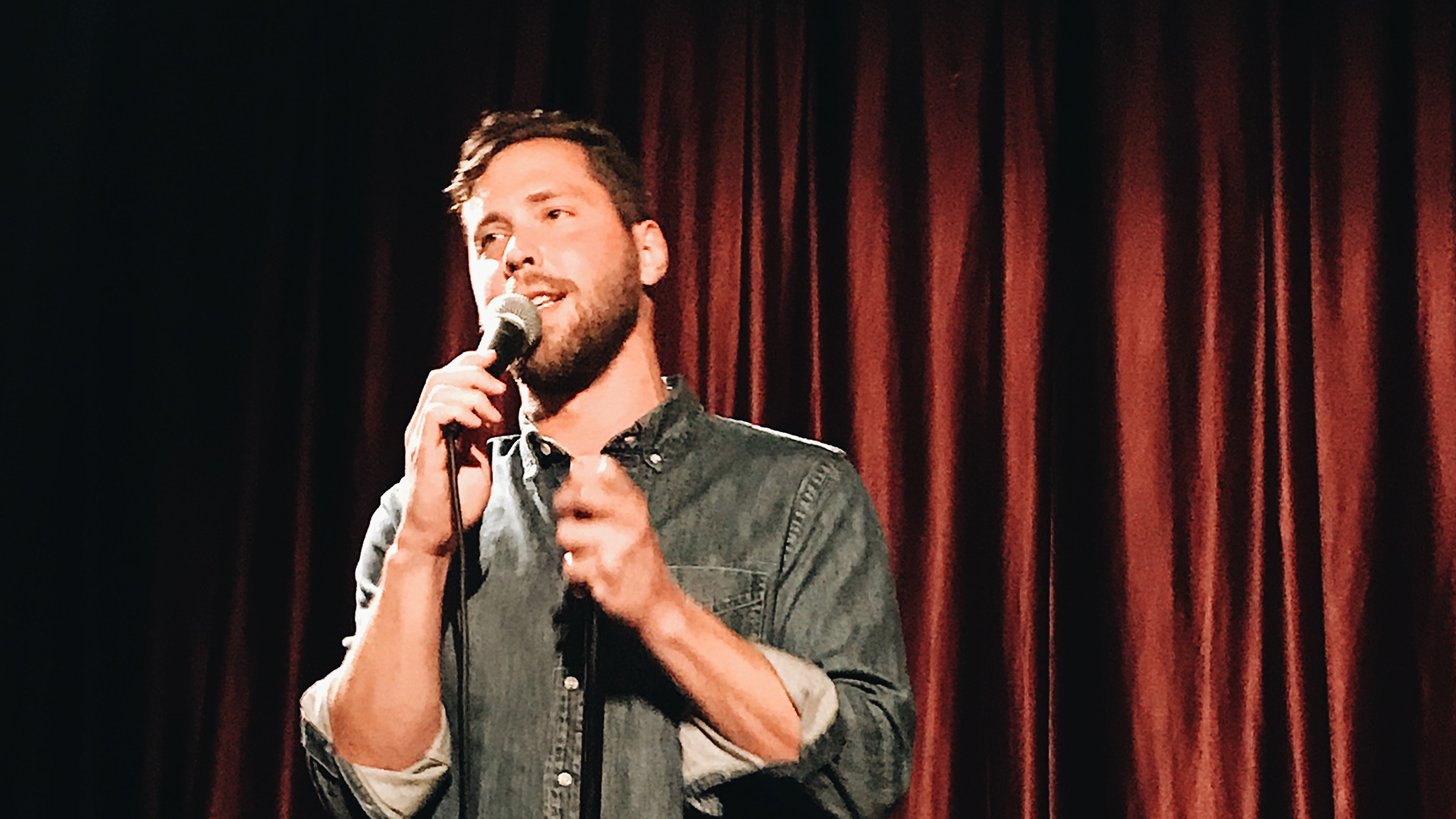 Amuse Bouche comedy night at Melody Wine Bar Virgil Village Karl Hess