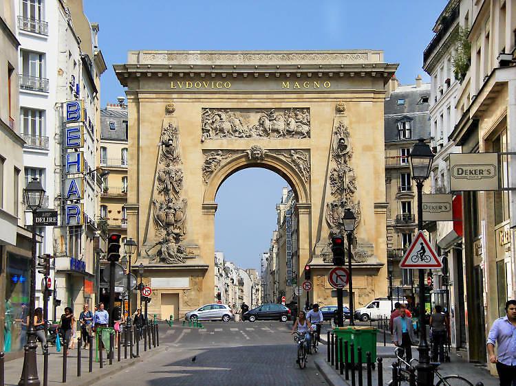 ストラスブール・サンドニ、パリ