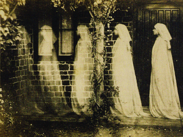 "Anonymous, ""The ghost of Bernadette Soubirous"", 1890, Albumen silver print"