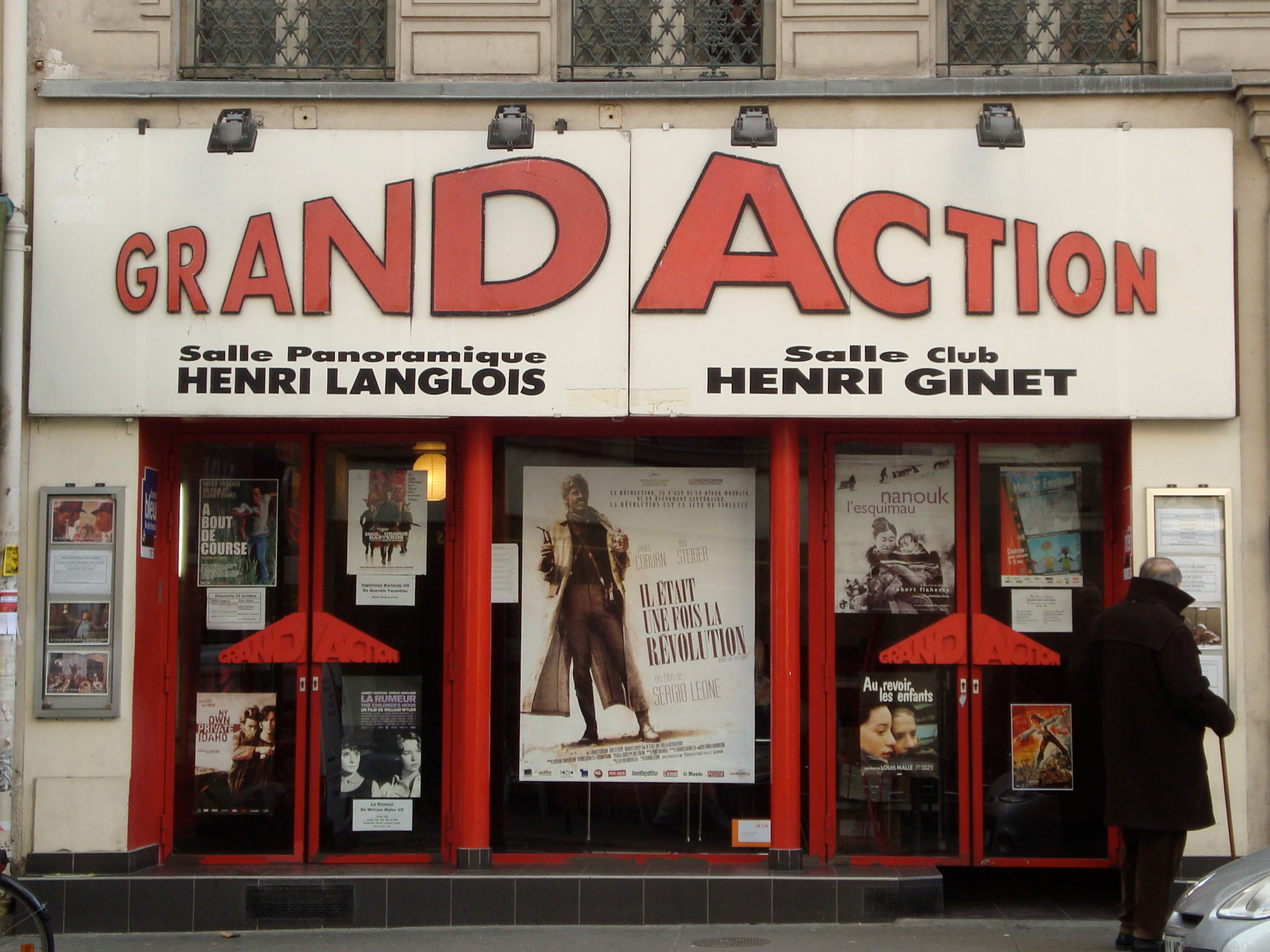 Grand Action cinema in Paris