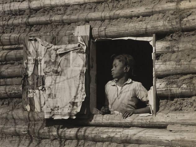 Arthur Rothstein. Girl at Gee's Bend, Alabama [Artelia Bendolph], April 1937.
