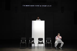 The Shadow Whose Prey the Hunter Becomes Carriageworks Back to Back Theatre 2019 supplied