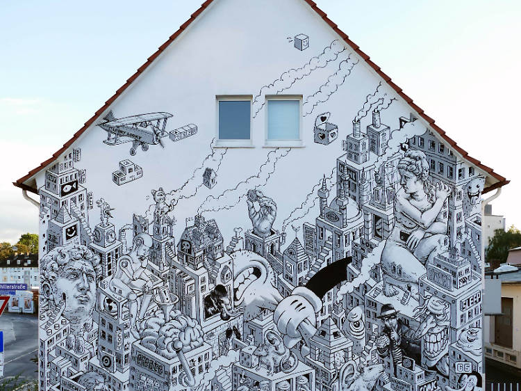 WENU 柏林街頭藝術:塗鴉創作