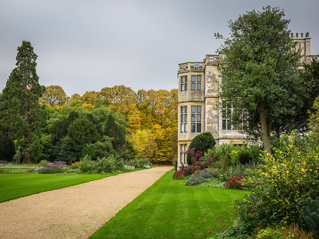 Audley End gardens