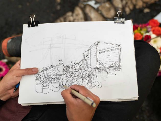 Urban Sketchers Ciudad de México es un club de dibujo de la CDMX