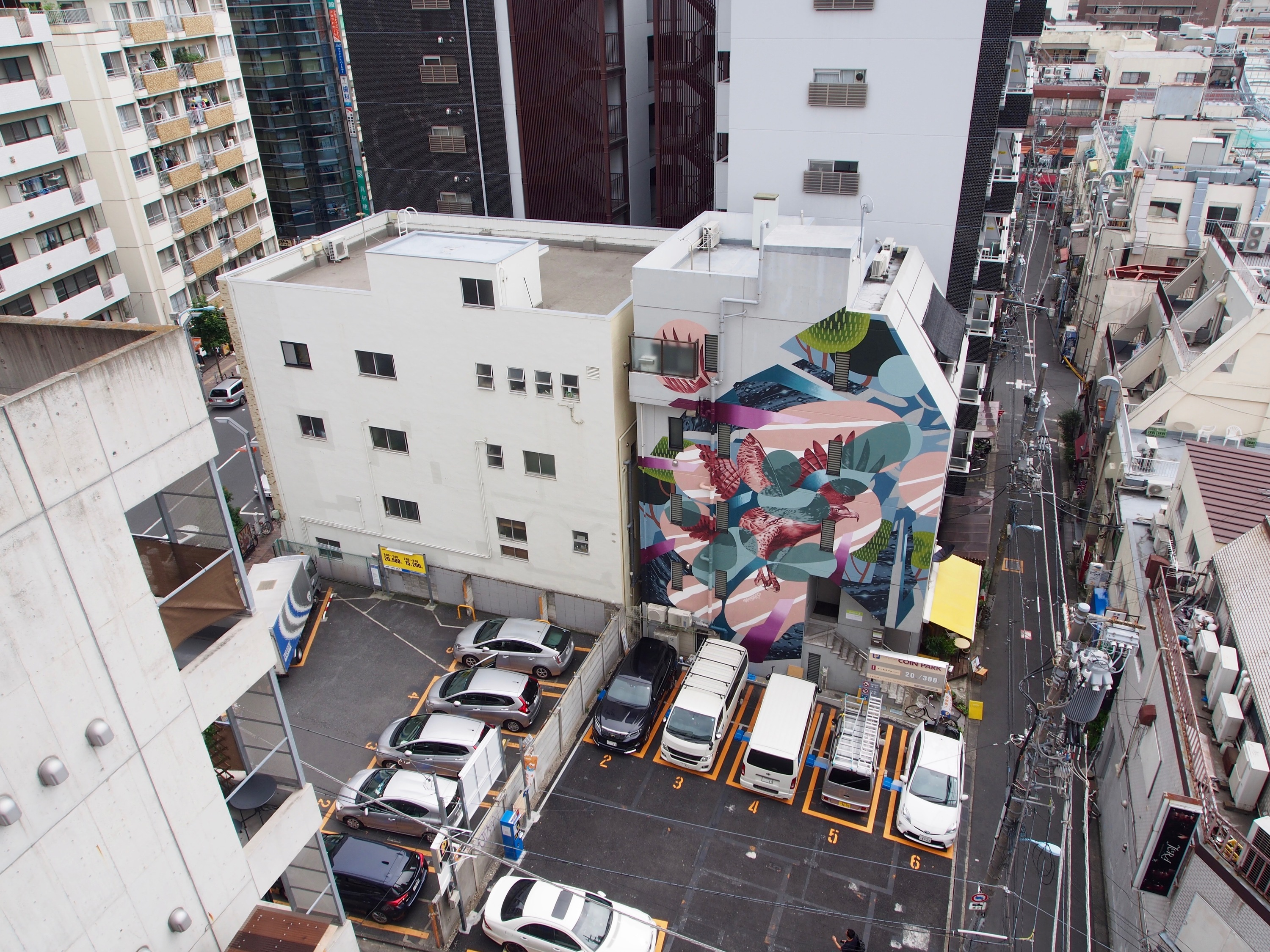 Koenji Mural City Project by Whole9