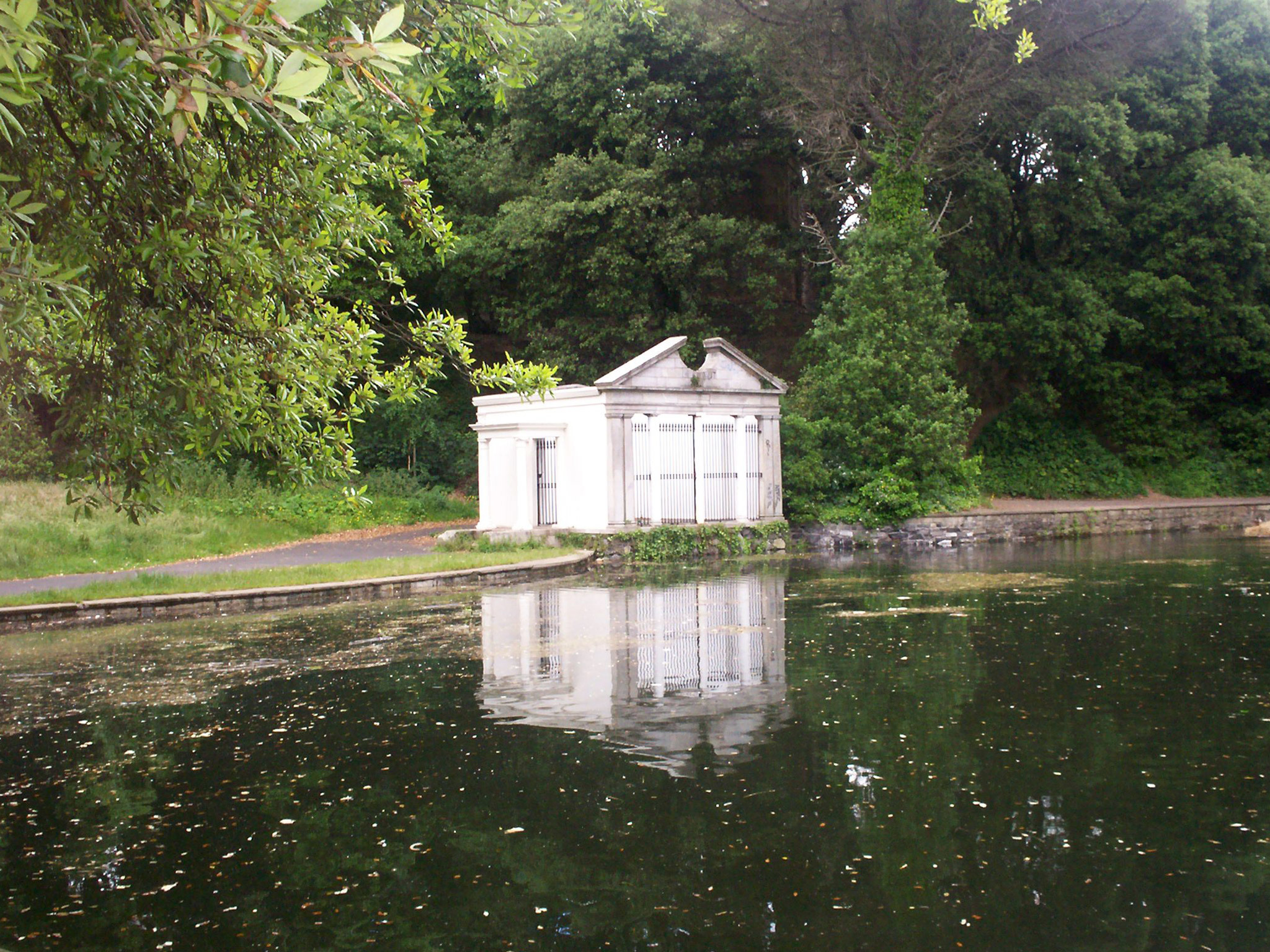 The Temple of Isis at St Anne's Park in Dublin
