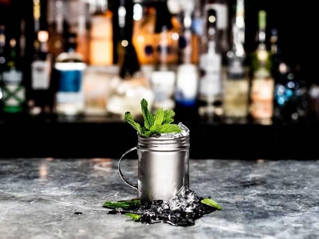 Ms Collins Frank Sinatra cocktail