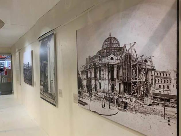 La exposición del Palacio de Bellas Artes se encuentra en el Metro Auditorio