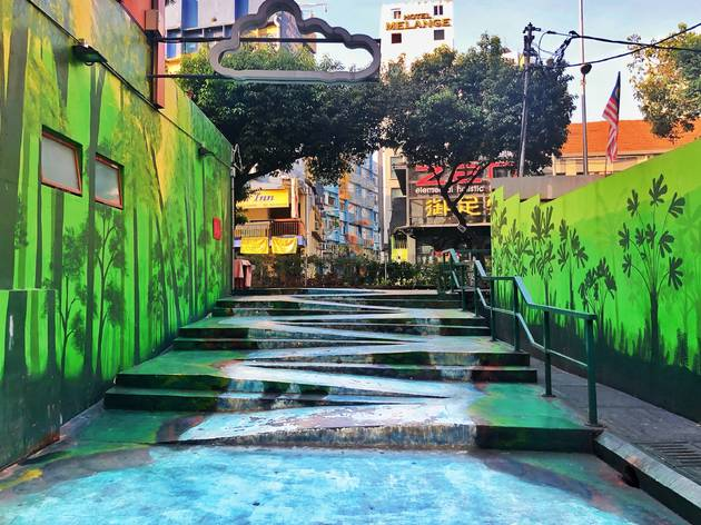 The Lost Stream at Jalan Alor