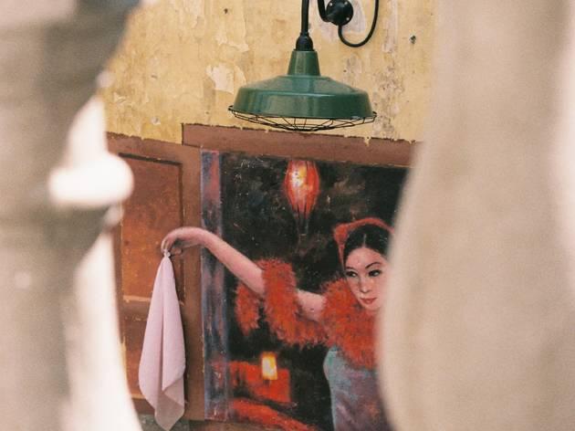Lady at Kwai Chai Hong