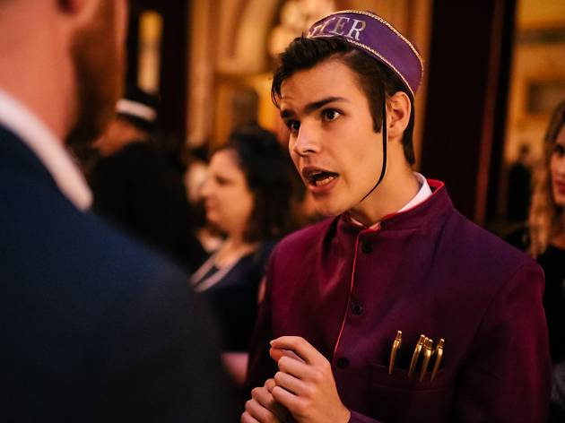 Porter at Grand Budapest Hotel experience