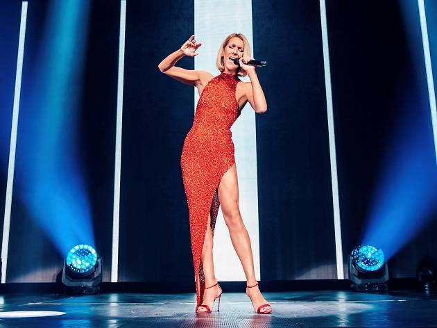 Celine Dion makes her debut in Israel