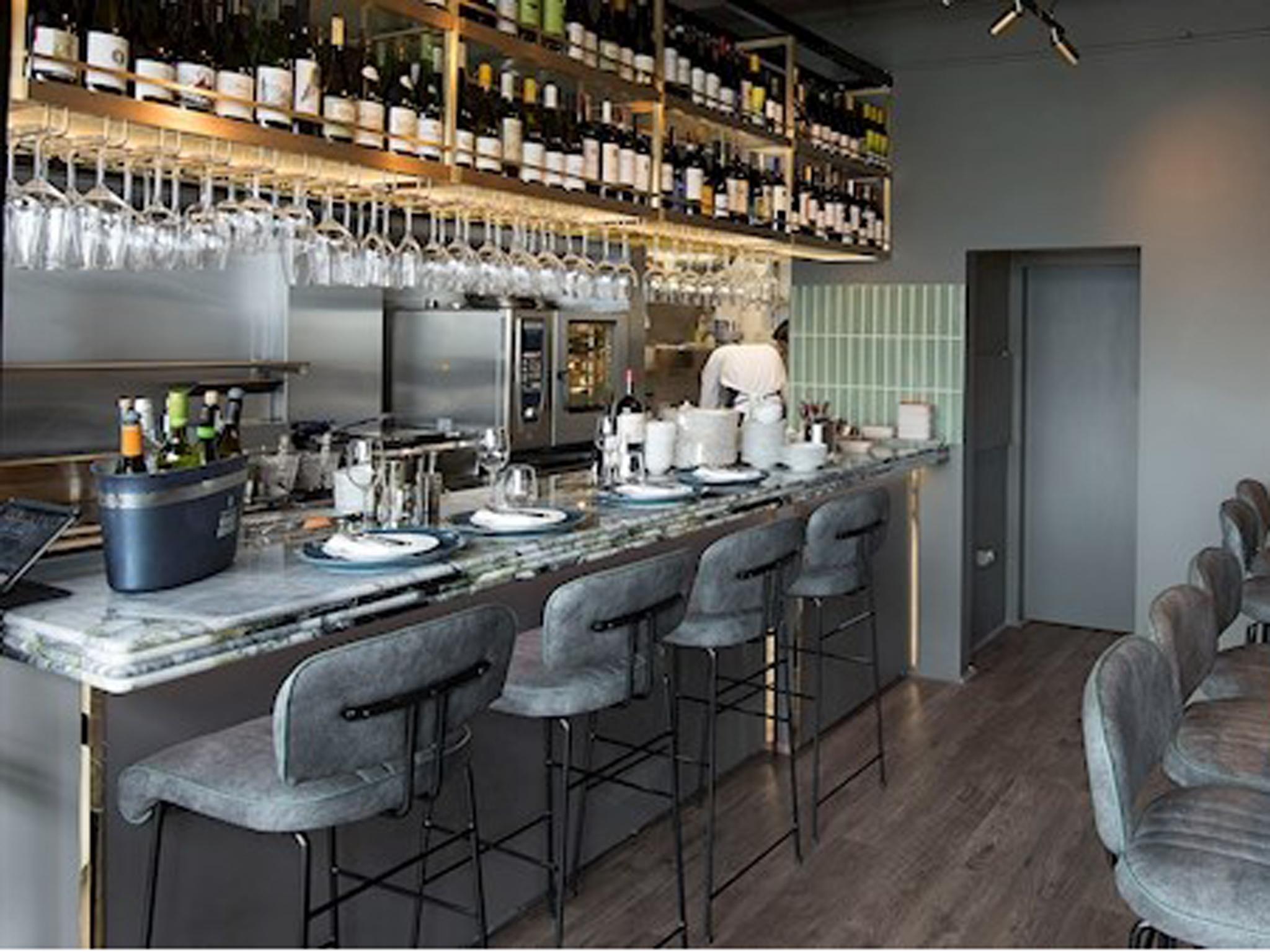 The interior of Michael's restaurant in Dublin