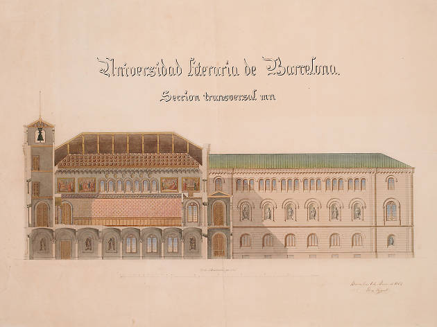 Universitat de Barcelona, d'Elies Rogent