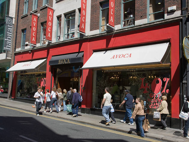 Avoca shop in Dublin