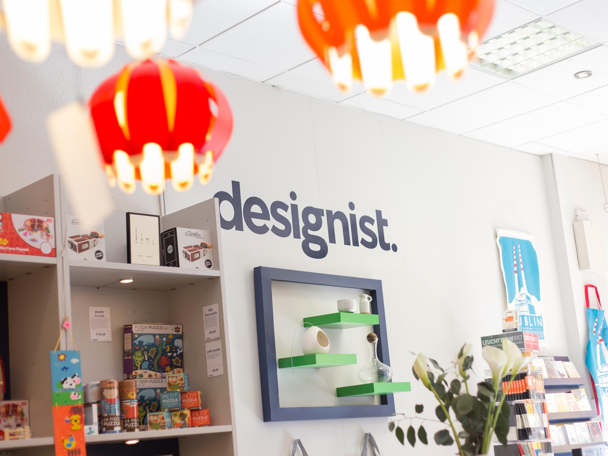 Designist store in Dublin