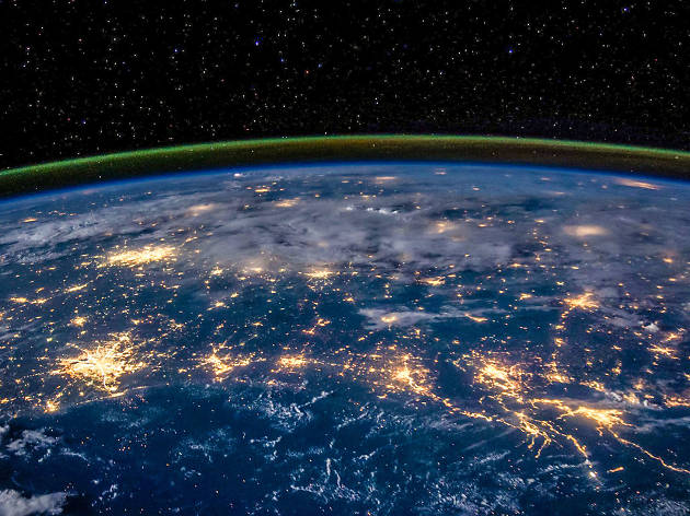 Image of the Earth from space for the Choose Your Own Apocalypse talk.