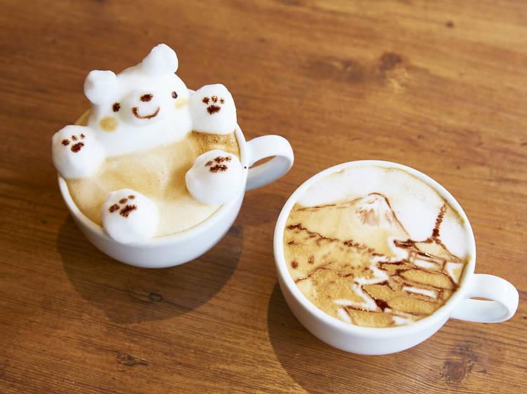 Sip on a kawaii latte