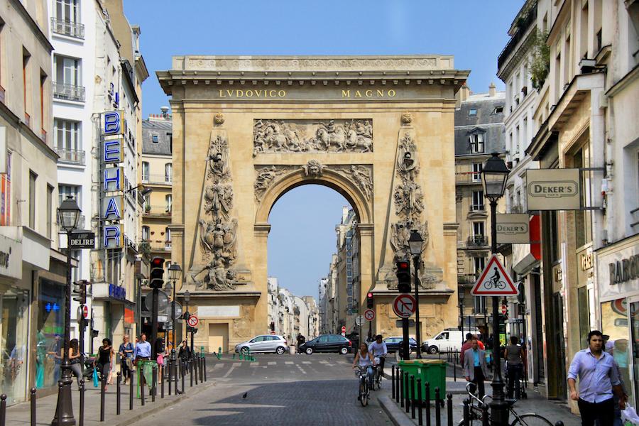 Strasbour-Saint-Denis, París