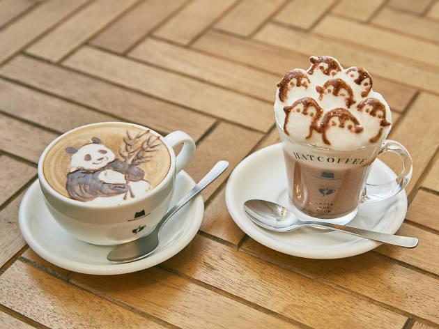 Best cafés for latte art in Tokyo