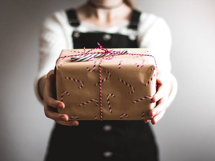 Presentes de Natal amigos do ambiente