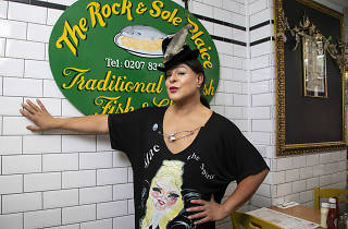 Lanah P is an LGBTQ+ pioneer, and the first non-binary person on British television