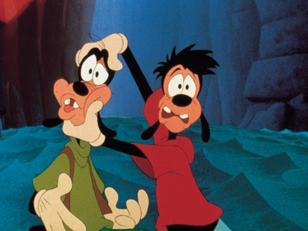 QUALITY: 2ND GENERATION-- A Goofy Movie--Back on the channel. Copyright Disney