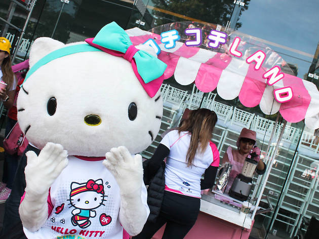 La gran carrera Hello Kitty