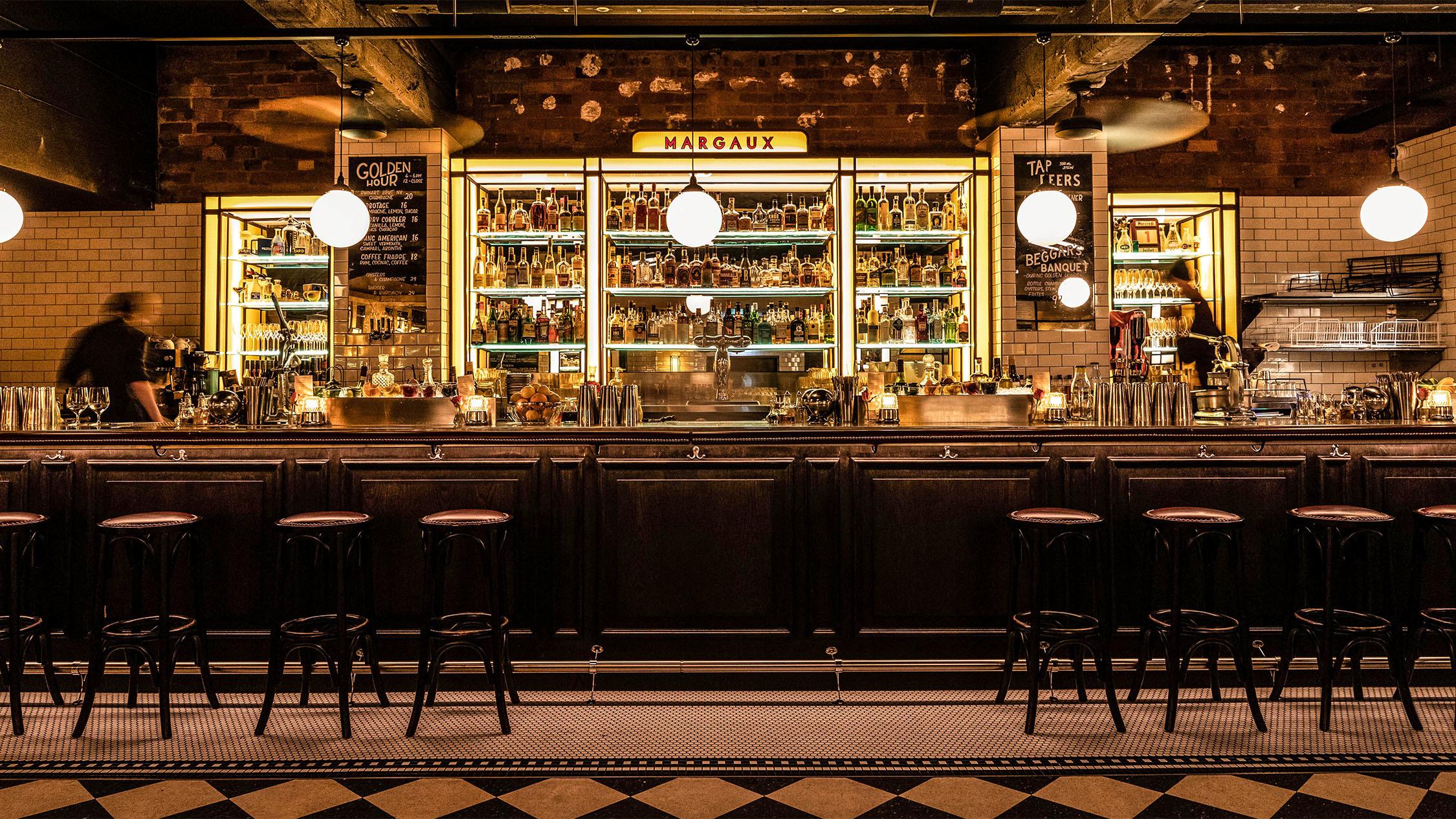 Bar area at Bar Margaux