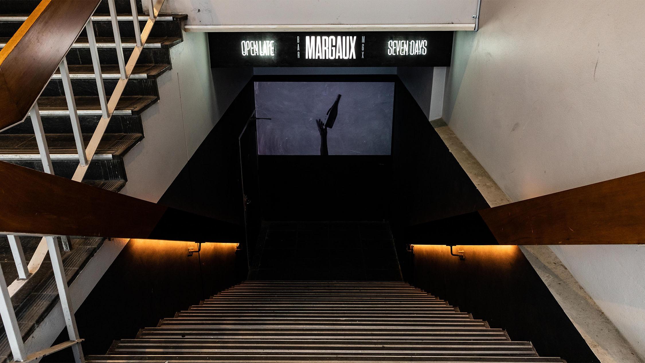 Stairwell at Bar Margaux