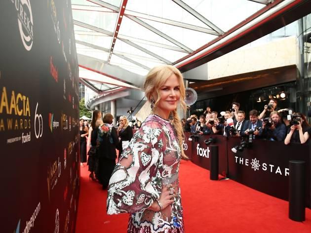 AACTA red carpet Nicole Kidman