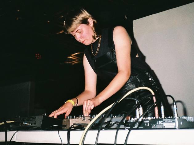 DJ and producer Nina Buchanan
