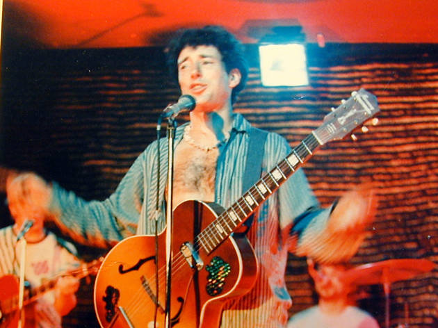 Jonathan Richman on stage