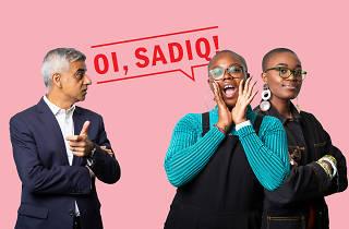 Oi, Sadiq! Black Girl Festival