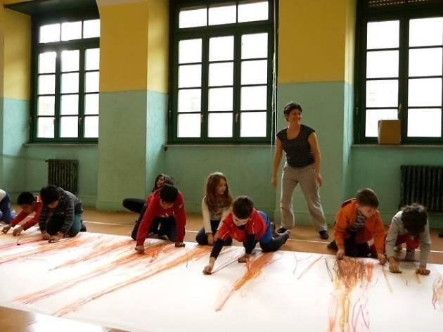 Segni Mossi a la Fundació Tàpies