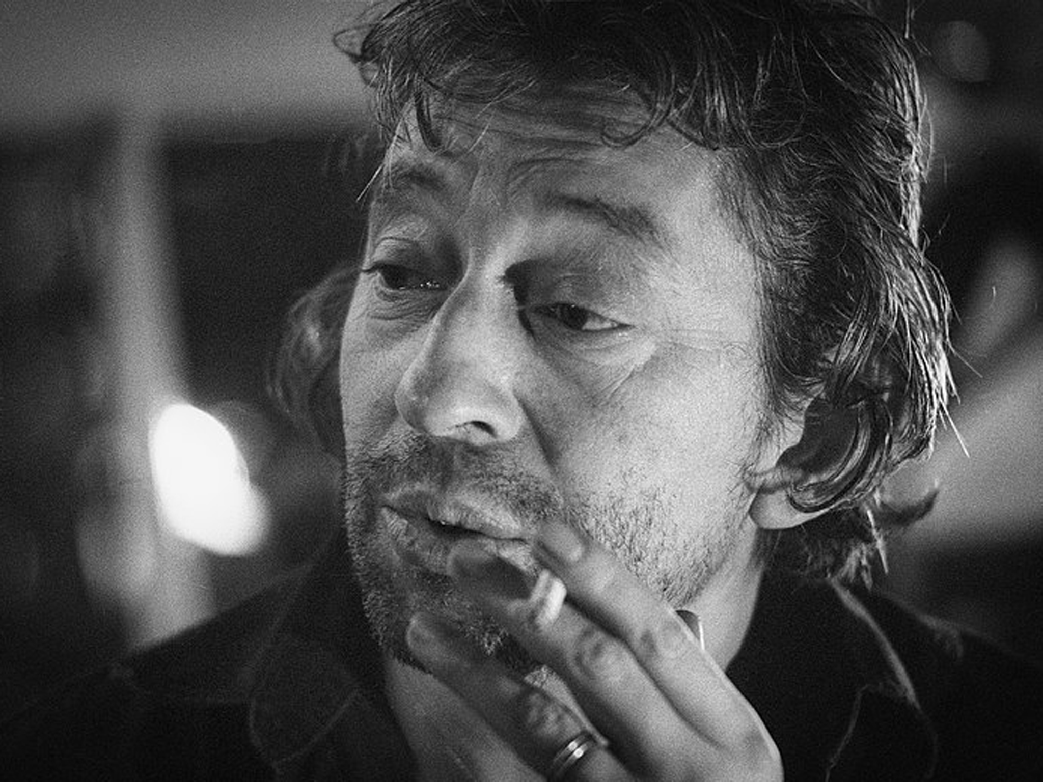 Serge Gainsbourg in 1981