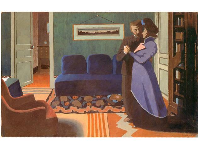 Félix Vallotton, The Visit, 1899