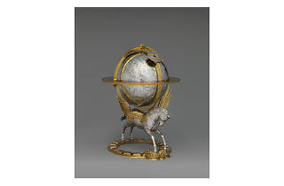 Gerhard Emmoser, Celestial globe with clockwork, 1579
