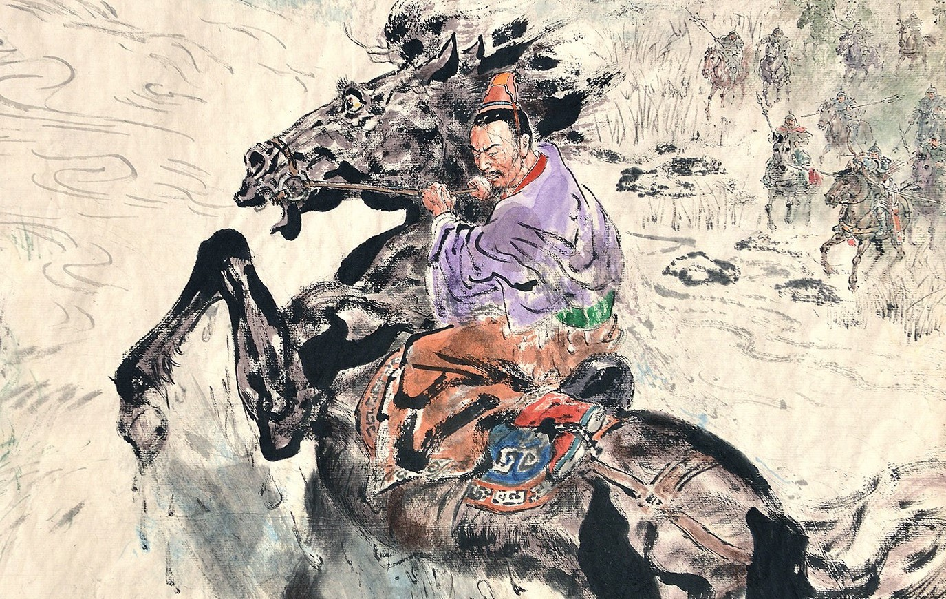 Tung Pui-sun,The Leaping Horse over the Creek from The Records of Three Kingdom, 2019