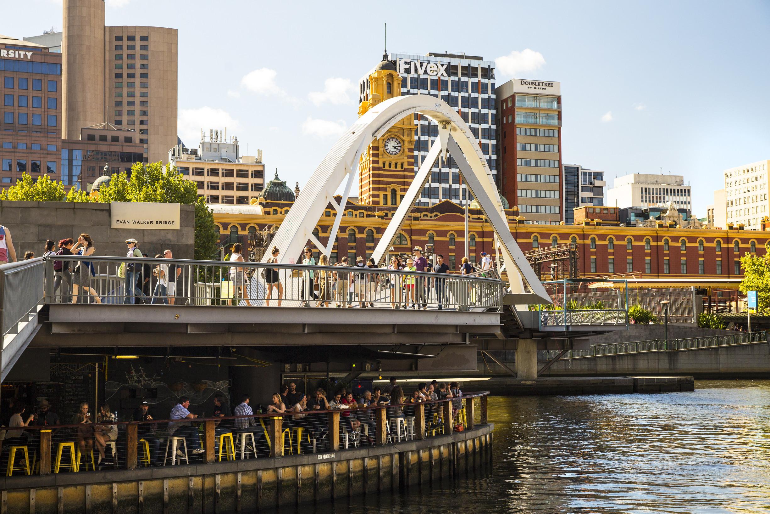 Evans Walker Bridge. Southbank, Melbourne