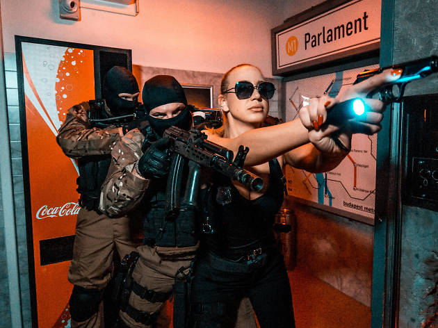 AROOM escape room in Budapest