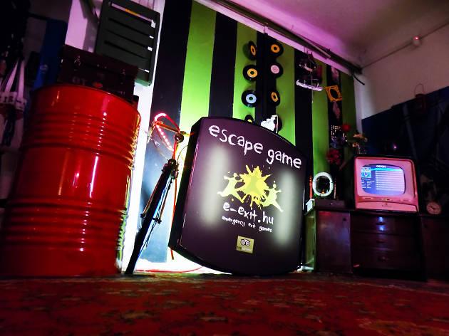 E-Exit Escape Room in Budapest